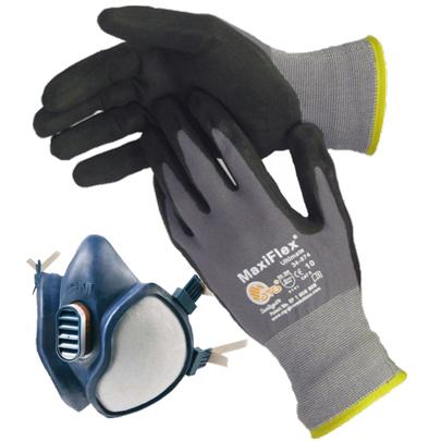 Handsker & sikkerhedsværn