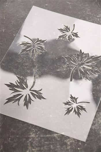 Stencil - Leaves