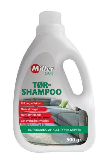 Tørshampoo til rensing af stof, tæpper og andre tekstiler