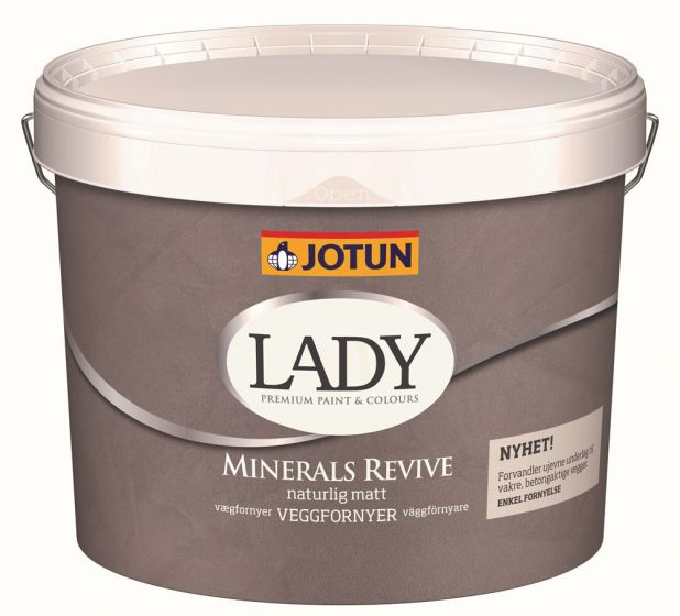 Jotun Lady Minerals - Revive Vægfornyer - Indfarvet Vægspartel