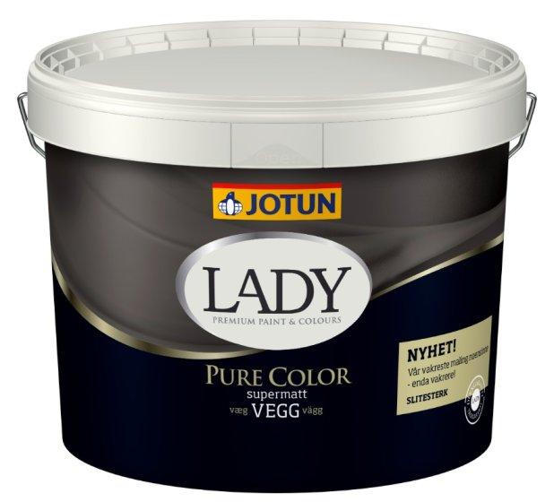 Jotun -  Lady Pure Color vægmaling Supermat glans 1