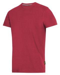 2502 T-shirt - Chilirød