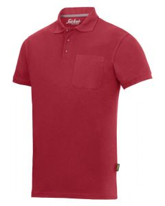 2708 Polo shirt - Chilirød