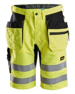 LiteWork, High-Vis shorts+ med hylsterlommer, klasse 1 - str. 54