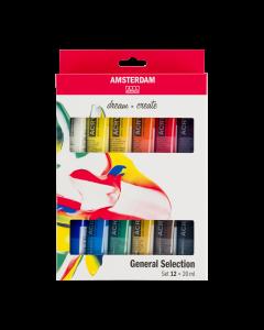 Amsterdam General Selection Sæt 12x20 ml