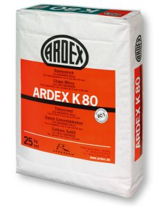 Flydespartel Ardex K80 Flydespartel 25 Kg.