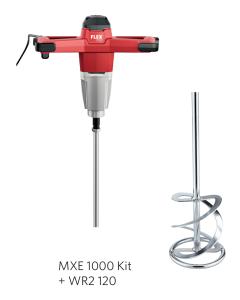 Flex Røreværk MXE 1000 Kit + WR2 120 Piskeris