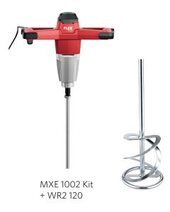 Flex Røreværk MXE 1002 Kit + WR2 120 Piskeris
