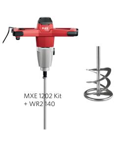 Flex Røreværk MXE 1202 Kit + WR2140 Piskeris