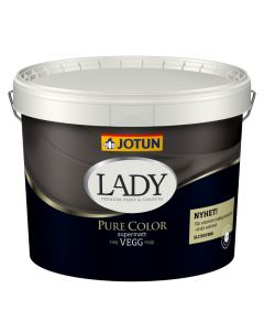 Jotun -  Lady Pure Color vægmaling Supermat glans 1