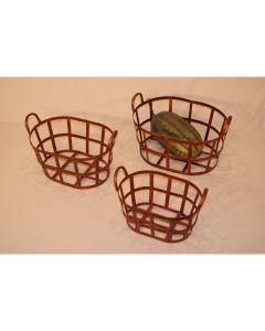 "Aafod Metalkurv Oval ""kobber"" Stor (150058)"
