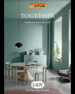 TOGETHER 2022 farvekort fra Jotun