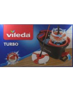 Vileda Turbo Moppesæt Microfibre 2in1