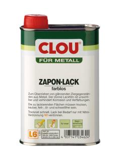 Clou Zaponlak Klar 125 ML