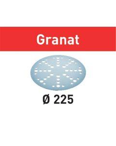 Festool Slibepapir STF D225/48 P60 GR/25 Granat