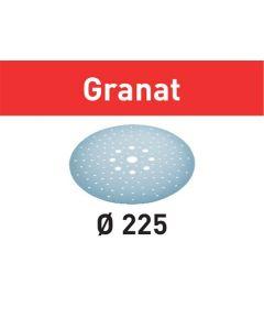 Festool Slibepapir STF D225/128 P240 GR/25 Granat