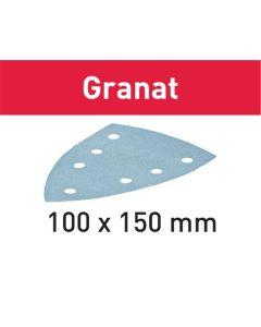 Festool Slibepapir STF DELTA/7 P150 GR/100 Granat