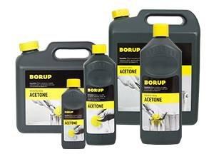 Borup Acetone 1/2 L