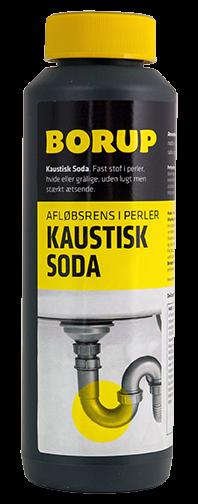 Borup Kaustisk Soda 500 gram