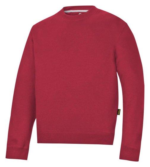 2810 Sweatshirt - Chilirød