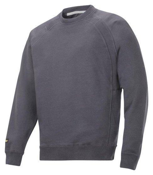 2812 Sweatshirt med MultiPockets™ - Stålgrå