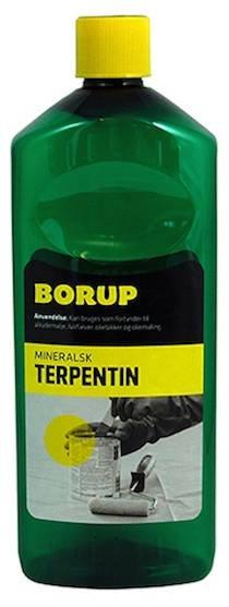Mineralsk Terpentin fra Borup - 0,5 Liter