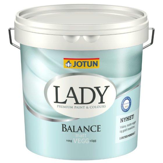 Jotun - Lady  Balance vægmaling glans 5